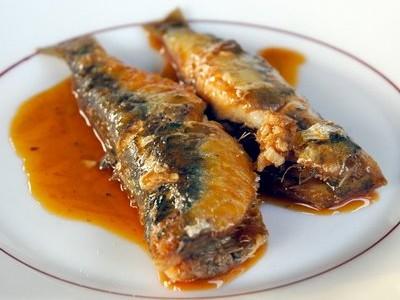 Las sardinas.